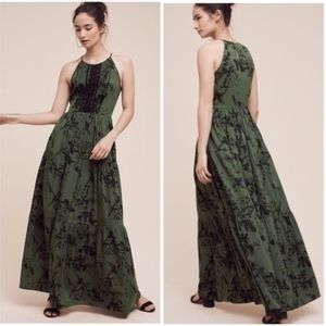 Anthropologie Herbaliste Maxi Dress